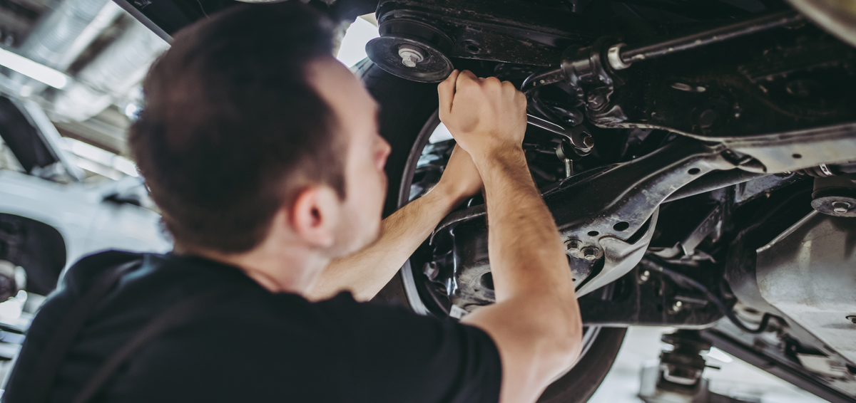 Mechanic doing some car repairs - Car Repairs Littleport